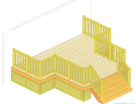 Free computer generated deck designs include a blue print for Decor fusion interior design agency manchester m3